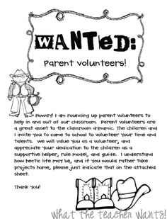 Best 25+ Parent volunteer letter ideas on Pinterest | Parent