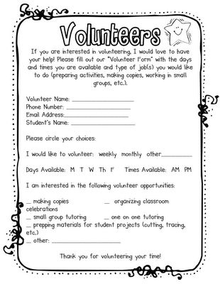 Volunteer Letter Template DesktopVolunteer Letter Template