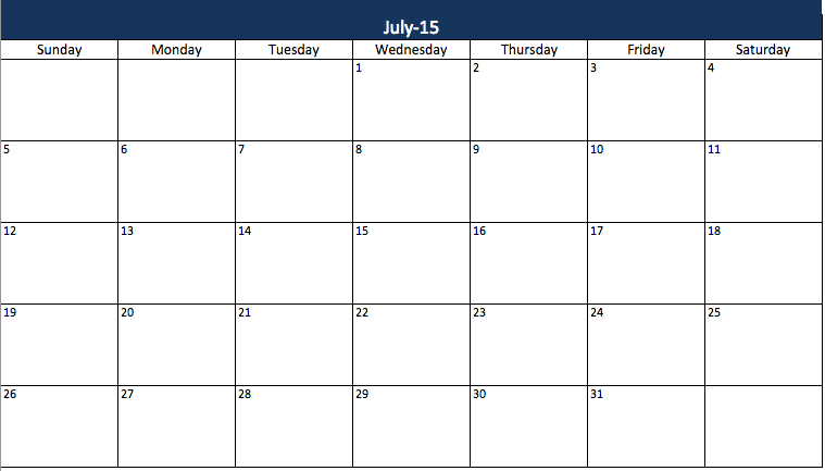 Weekly Planner Template 7 Free Schedule Planners