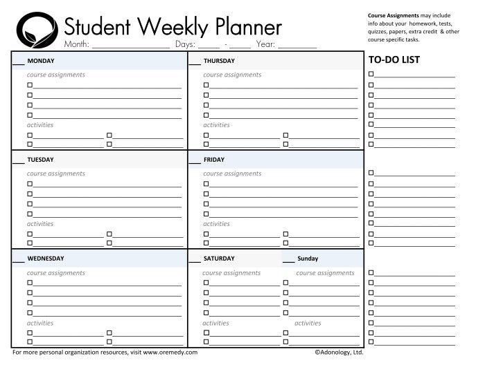Best 25+ Student planner printable ideas on Pinterest | Study