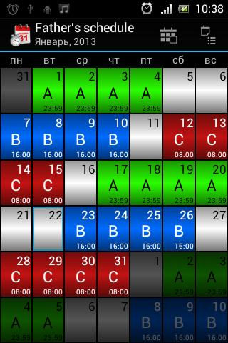 Work(Shift planner) Android Apps on Google Play