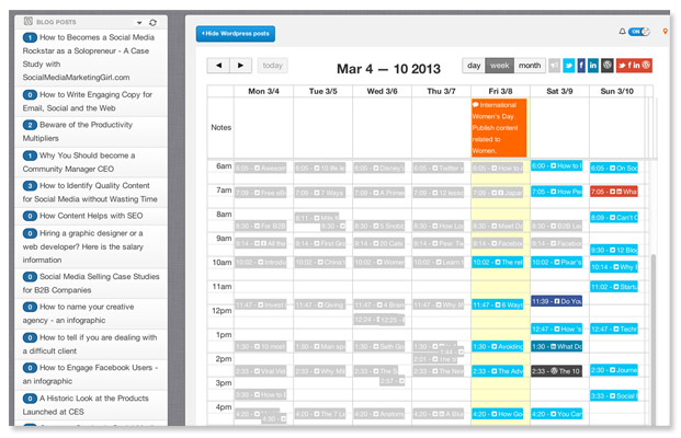Social media calendar template google docs planner for How to change template on google sites