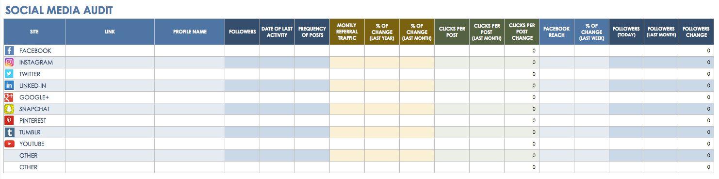 Content Marketing Editorial Calendar Template  Pam Moore
