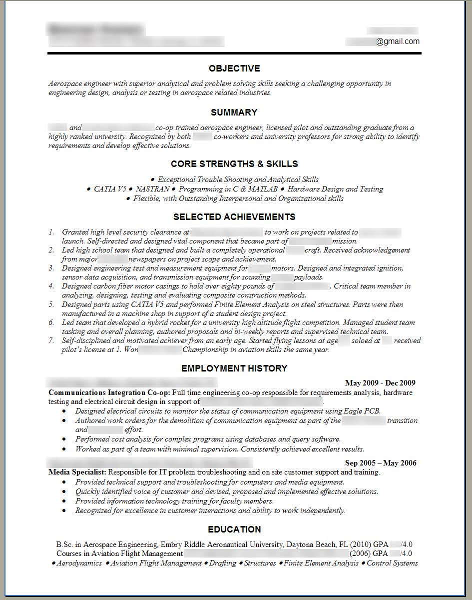 Resume Examples. software engineer resume template senior
