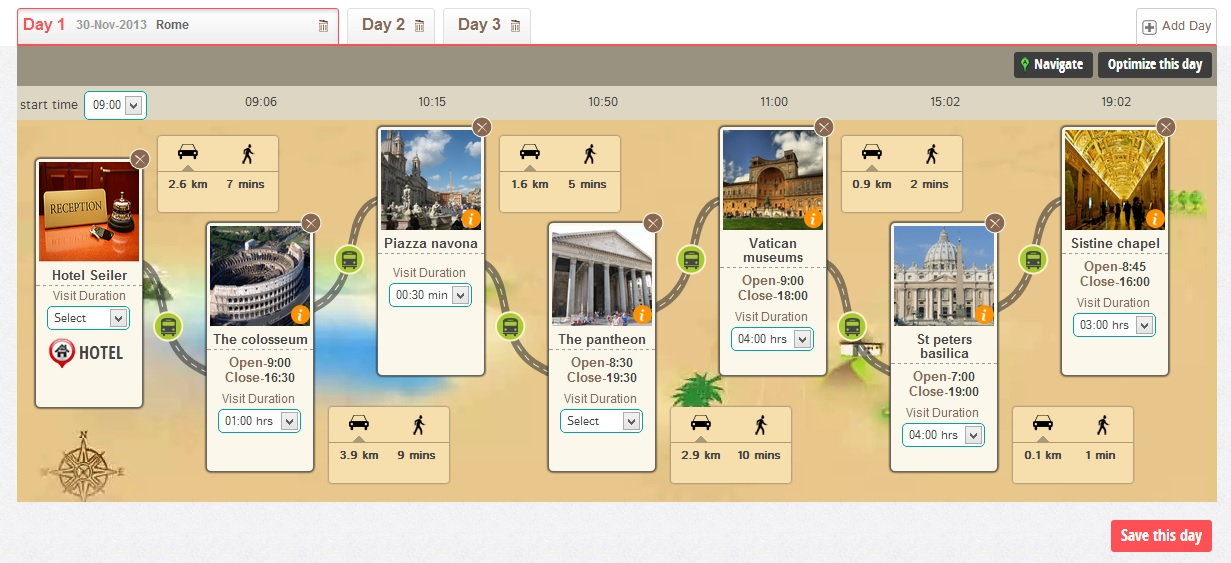 JoGuru Is A Travel Planner That Optimizes Your Itinerary
