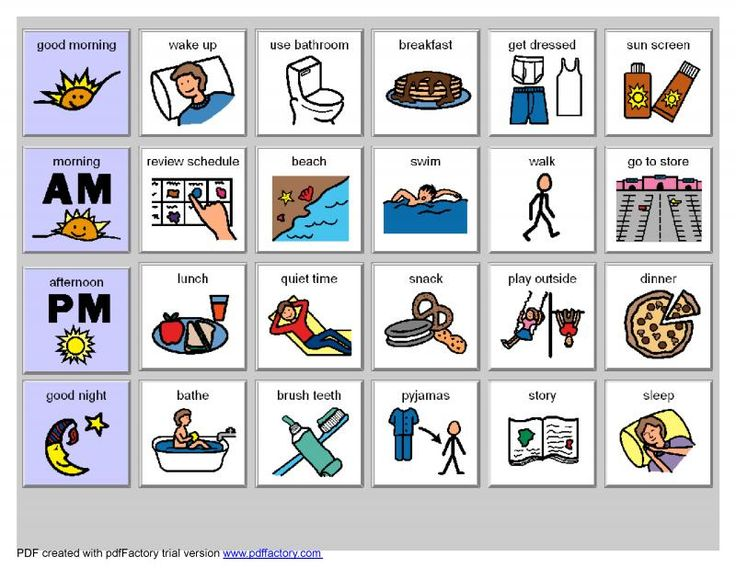 16 best Free visual resources for autism images on Pinterest