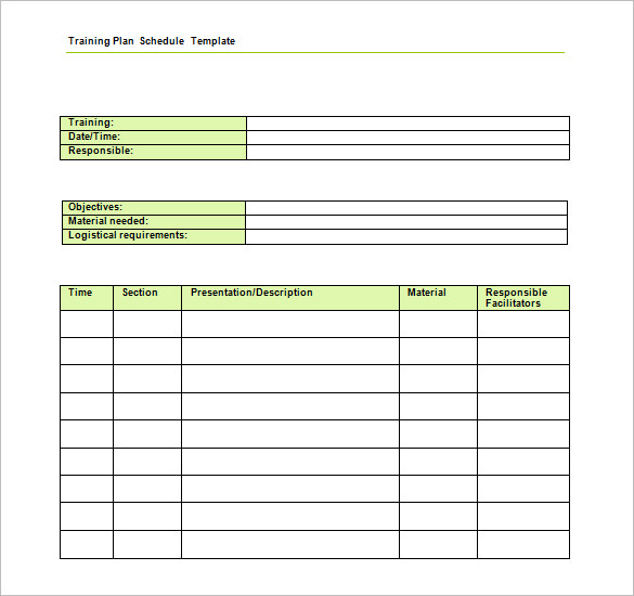 training plan template my website. training plan template 16