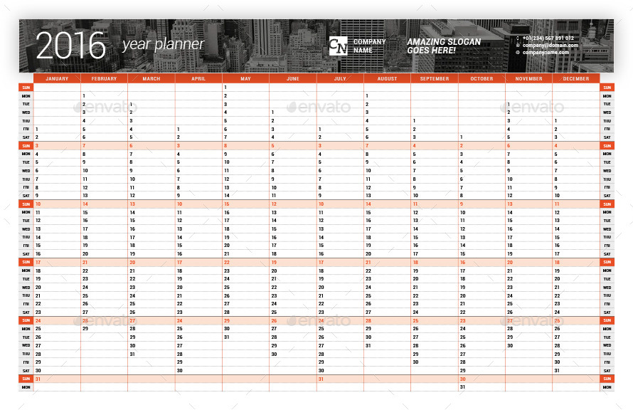 FREE DOWNLOAD: Plan Your Work, Work Your Plan Yearly Template