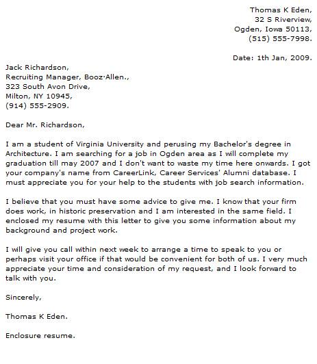 Cover Letter For Volunteer Work