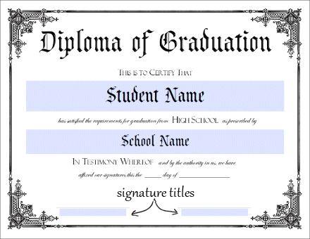 free printable fake ged certificate