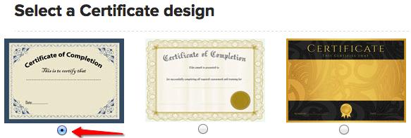 Create Online Certificate