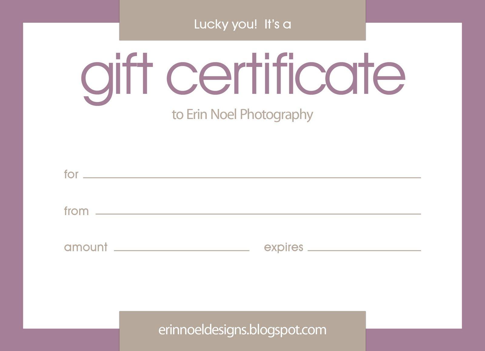 Gift certificate template google docs planner template free for Google docs gift certificate template