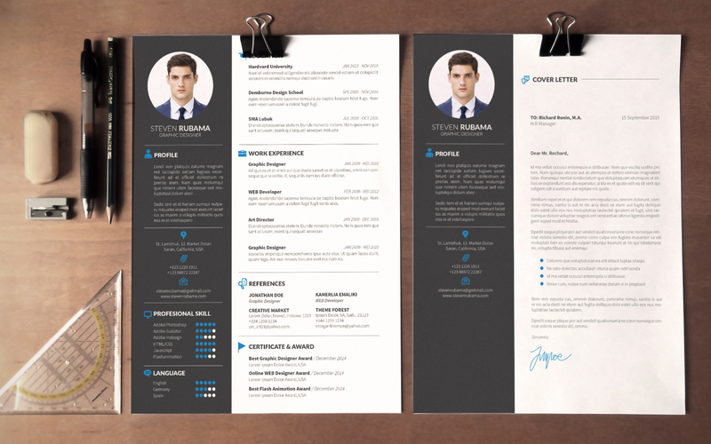 modern cv template word free download  u2013 planner template free
