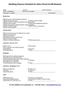Wedding Planner Questionnaire Template 9a0d049b53095415d8ec234125d0c7f7 Checklist For Flowers Tmjien